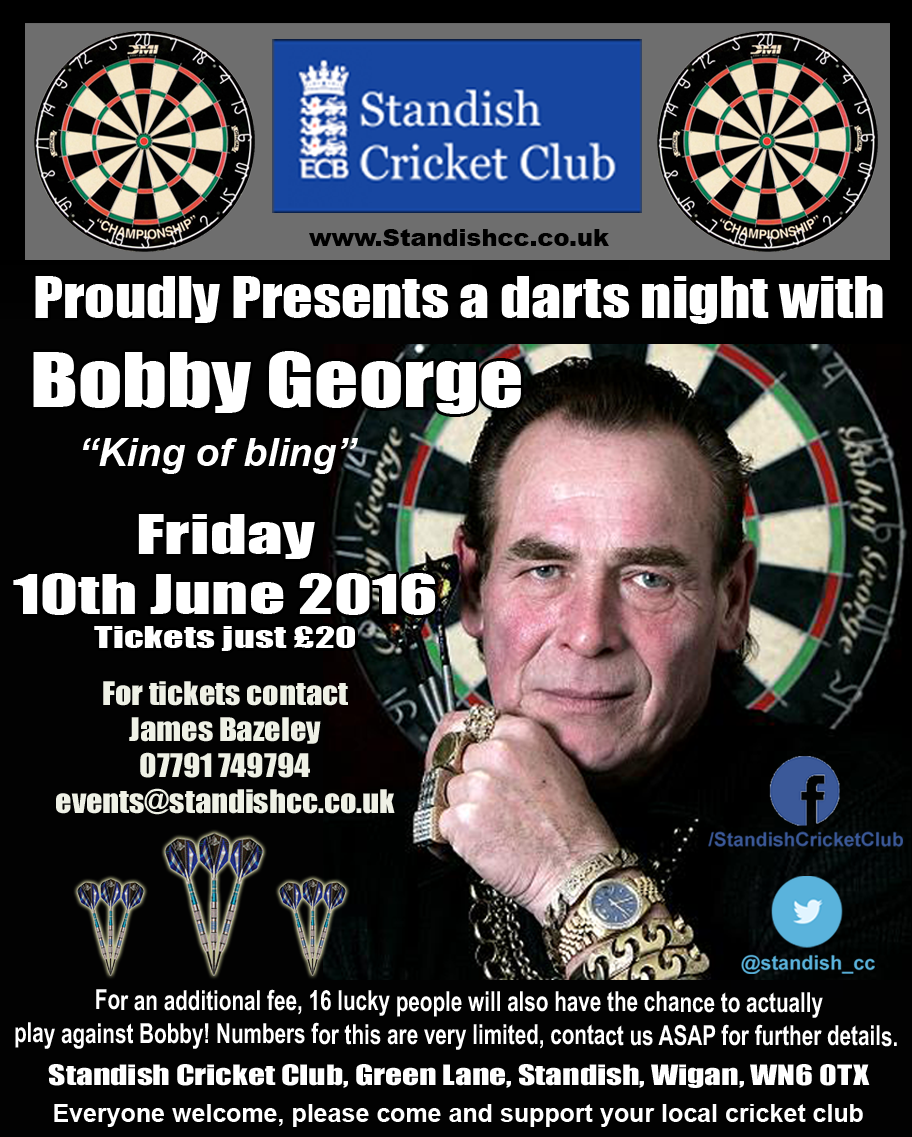 Bobby George - Darts night