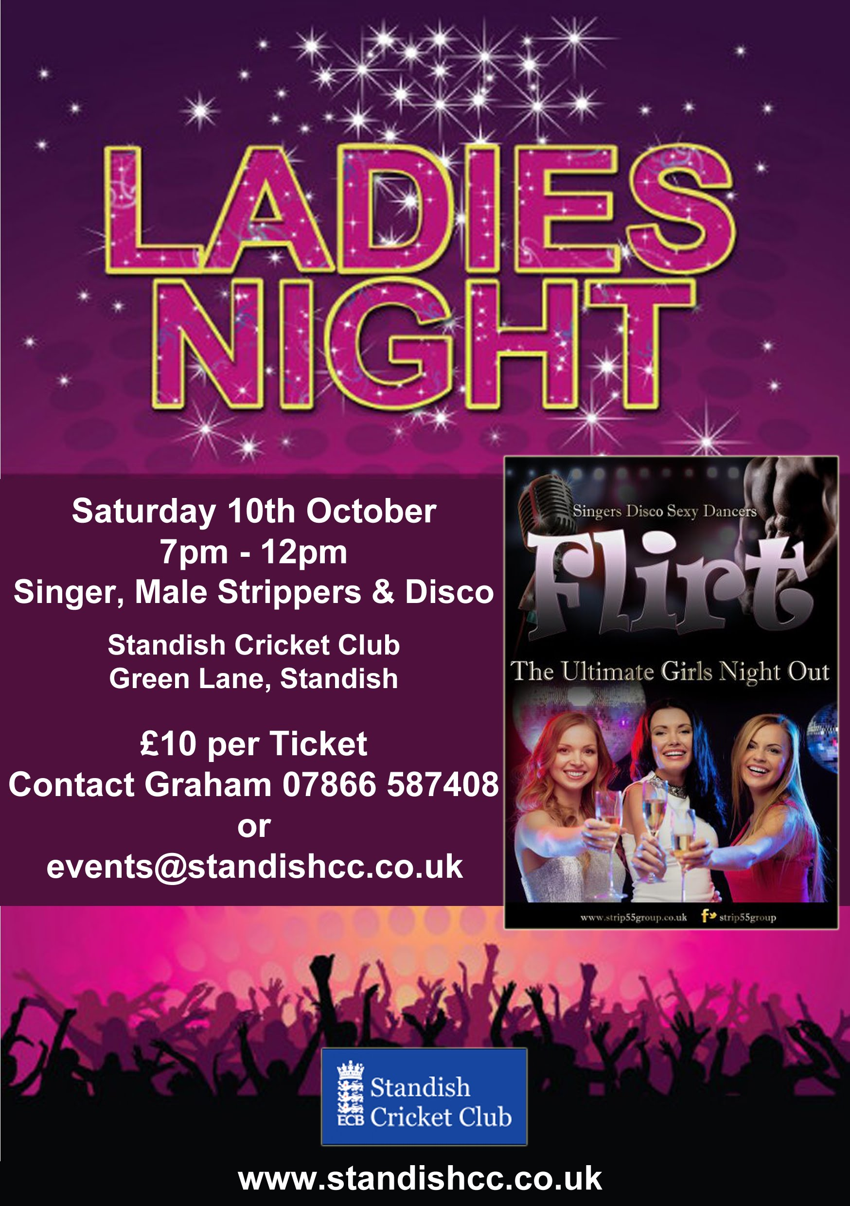 Ladies night at Standish Cricket Club